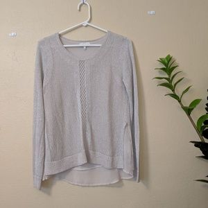 Lucky Brand Knitted Long-Sleeve Sweater